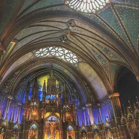 Basilica Notre Dam in Montreal