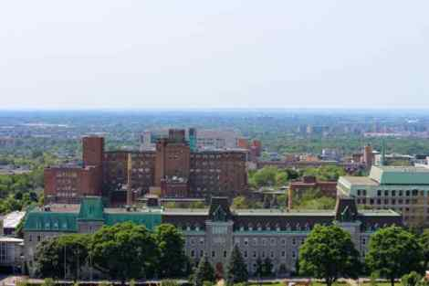 View from St. Joseph's