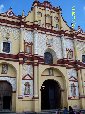 The main cathedral in San Cristobal