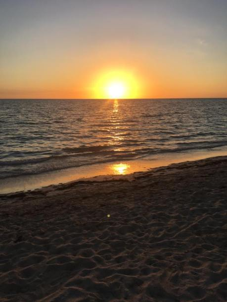 Sunset at Playa Ancon