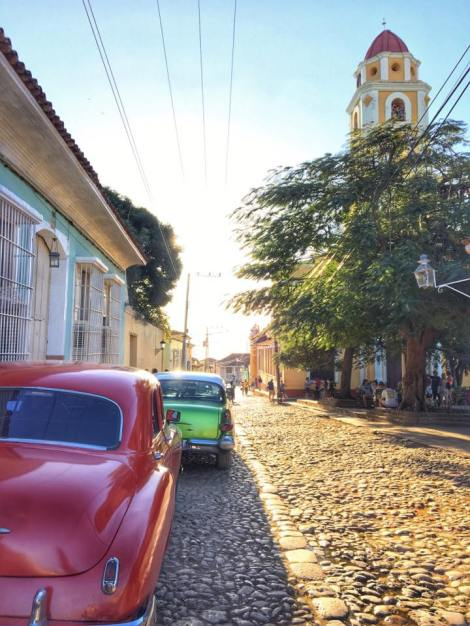 This is my favorite pic from Trinidad. I seemed to see gorgeous old cars at every corner!