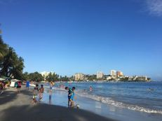 Playa Pampatar had a more local feel