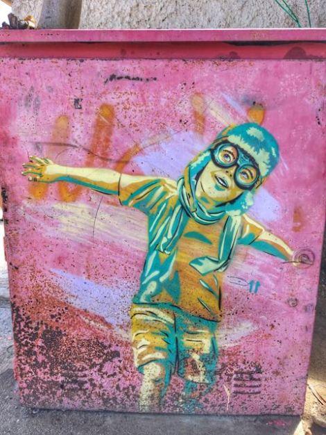 Grafitti at El Yaque