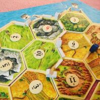 I learned how to play Settlers of Catan