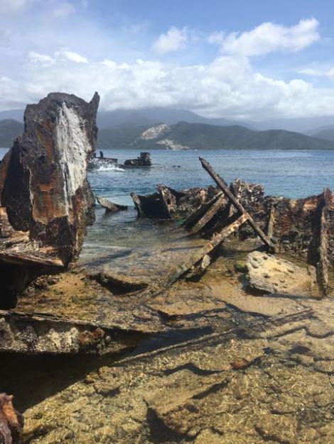 Isla Larga shipwreck