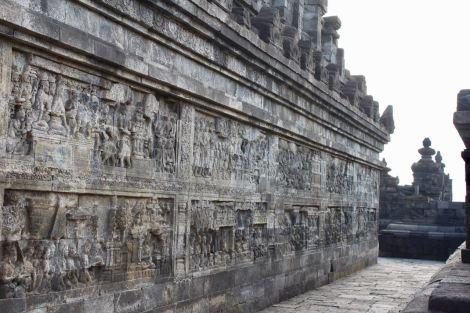 Borobudur empty